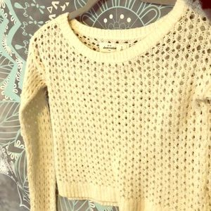 Size small, cropped, Abercrombie And Fitch sweater